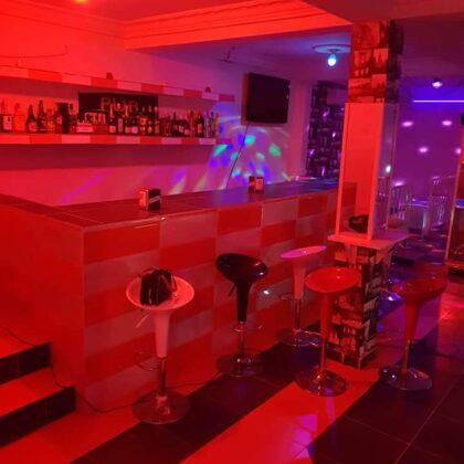 Barra del pub Gloss