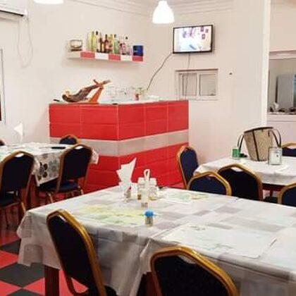 Interior restaurante Ligia